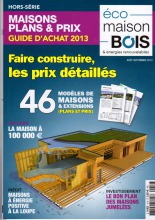 Article Eco Maison Bois septembre 2013