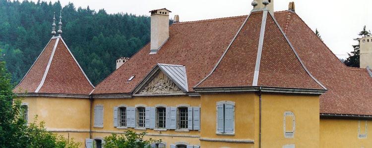 Charpente _ Château de Bardonenche