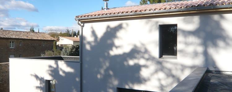 les toits du tri ves r alisation maison ossature bois qualit bbc saint laurent la vern de 2011. Black Bedroom Furniture Sets. Home Design Ideas