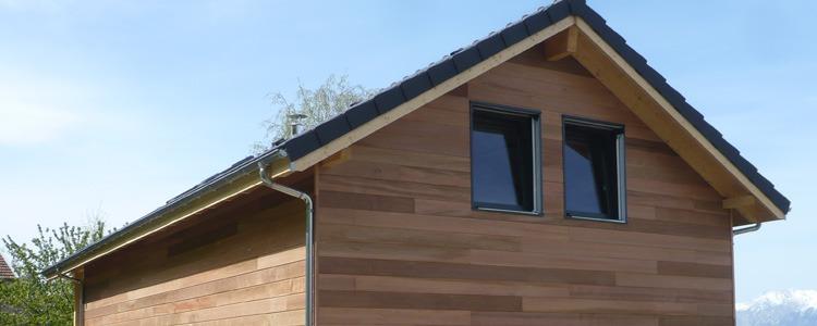Maison ossature bois qualité BBC _ Saint Martin d'Uriage 2012