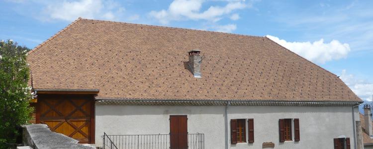 Travaux de charpente couverture zinguerie _ Saint Michel les Portes 2011