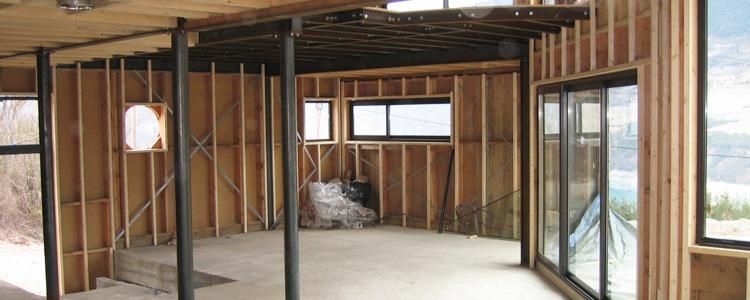 les toits du tri ves r alisation ossature bois treffort. Black Bedroom Furniture Sets. Home Design Ideas